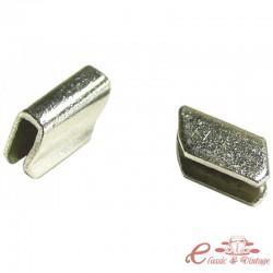 Conjunto de 2 acabados de moldura cromadas ref 14-17210