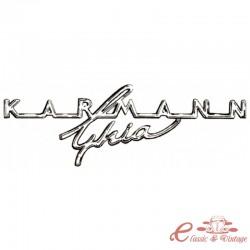 "logotipo del tablero de instrumentos ""karmann ghia"""