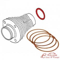 """Set de 4 segmentos de bajo de cilindro T4 17/18/2000 0,10"""" (0,254mm)"""