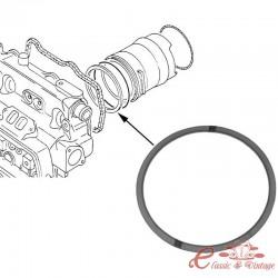 Junta metálica de la parte superior del cilindro en el lado de la culata