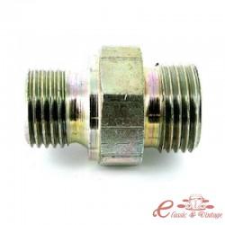 Conexión de la manguera de retorno de aceite en el cárter o en el tubo de retorno de la dirección asistida T25