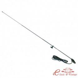Antena de mejilla de ala 1120 mm pie cromado 2 puntos de fijación