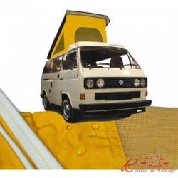 Lienzo de T25 Westfalia 80-5 / 84 con 3 ventanas AMARILLO calidad superior