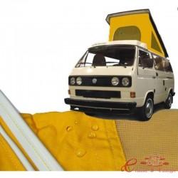 Lona de T25 Westfalia 5/84-90 con 3 ventanas AMARILLO calidad superior