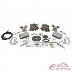 """Kit carburador LUXE doble EMPI """"D"""" 36mm para Tipo 3"""