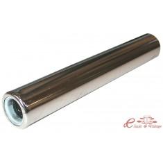 Tubo silencioso cromado 225mm