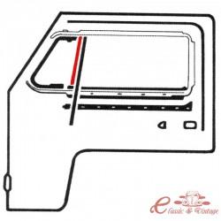Junta vertical de deflector fijo izquierdo o derecho T2 7/67-
