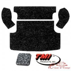 Kit de alfombra gris para maletero trasero (TMI 407) (5 piezas)