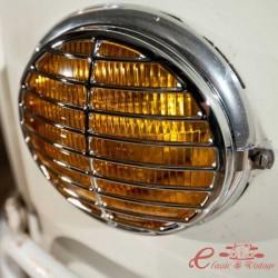 Conjunto de 2 rejillas de faros T1 / T2 -67 estilo Porsche 356 en acero inoxidable revestido con triple cromo