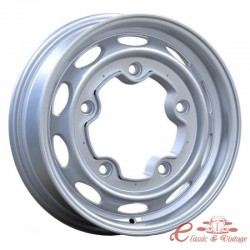 "Llanta de aluminio VINTAGE 190 gris 5.5x15 ""5 x 205 (ET 20)"