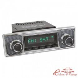 """Radio de coche RETROSOUND """"BECKER"""" con caja LAGUNA"""
