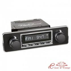 "Radio de coche RETROSOUND look ""BLAUPUNKT"" con caja HERMOSA"