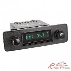 "Radio RETROSOUND look ""70's / 80's"" con caja SAN DIEGO"
