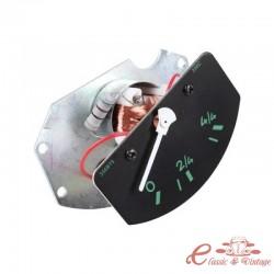 Dial de nivel de combustible 6V en metros para Porsche 356 60-65