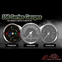 Dial de temperatura del aceite y nivel de combustible para Porsche 356 o réplica 356