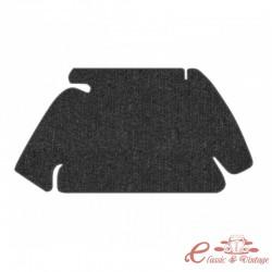 kit moqueta de maletero delantero negro 60-67
