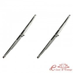 Juego de 2 escobillas limpiaparabrisas karmann gris 56-66 (285mm)