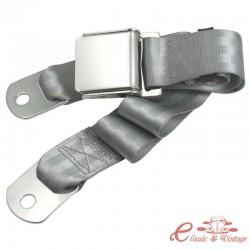 Cinturón estilo WOB 2 puntos izquierdo o derecho gris