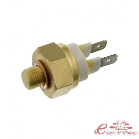 Termocontacto blanco de 2 polos 55 ° / 65 ° C (M10x1mm)