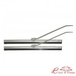 Conjunto de 2 braços de limpador e lâminas cinza 8/57-7/64 (245 mm)