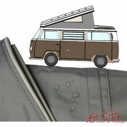 Tela de Westfalia 68-73 com 3 janelas CINZA qualidade superior