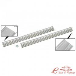 Juego de 2 umbrales de puerta de aluminio (con tornillos) KG 55-65