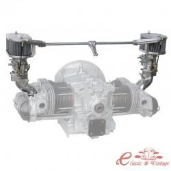 """Kit completo de carburador WEBER 34 ICT para motor CB PERF D/A """"versión de lujo"""""""