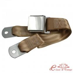 Cinturón estilo WOB 2 puntos izquierdo o derecho beige