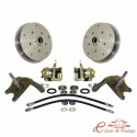 Kit de freno de disco delantero 5 x 205 o 5 x 130 para pivotes EMPI -7/65 con manguetas rebajadas