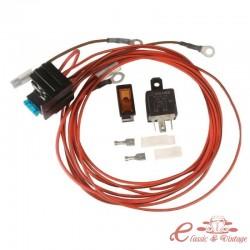 Kit de cableado para luneta trasera calefactable