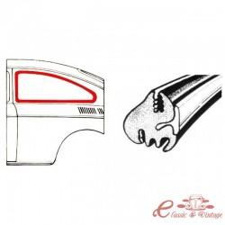 Sello de ventana del lado izquierdo o derecho (sin ventana emergente) FASTBACK (incluido para molduras)