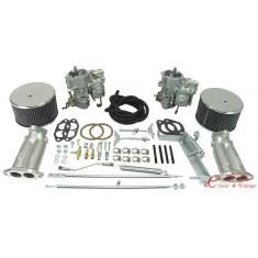 kit doble carburadores KADRON 40mm