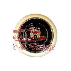 boton claxon blanc-gris sigla WOLFSBURG -67