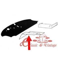 kit (2) tapizados caucho izquierdo y derecho bajo banquetas delanteras 68-79