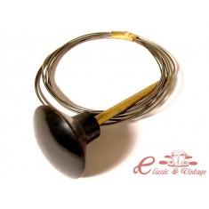 Cable capot delantero -7/68 empuñadura negra