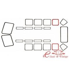Junta de vidrio lateral fijo T2 50-67