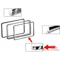 Junta de vidrio lateral pop out entre marco y vidrio T2 50-67