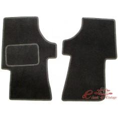 Set de 2 tapiceria delantero negro Transporter -90