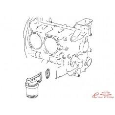 Junta de pie radiador de aceite T4