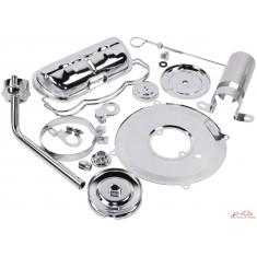 kit cromado motor 11 piezas