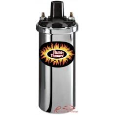Bobina cromada Flame Thrower 40.000 Volts