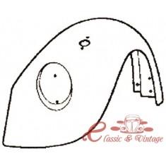 Aleta del izq 8/67-7/73 (sin agujero claxón y con agujero intermitencia )