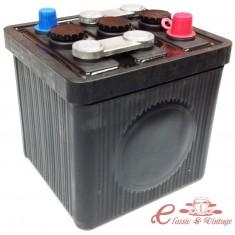 Bateria 6Volts negra 66Ah (sin acido )