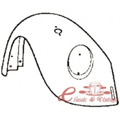 Aleta del der 8/67-7/74 y 1200 8/73-7/74 (con agujero paragolpes y agujero intermitencia )