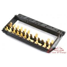 Caja de fusibles 12 fusibles + soporte de reles
