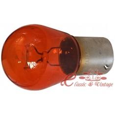 Bombilla 12v intermitente naranja 21w
