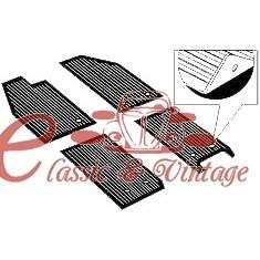Set de 4 tapizados caucho negro 56-59