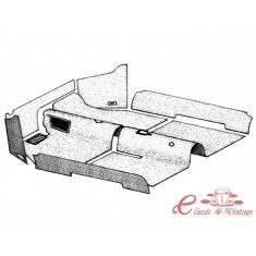 kit moqueta interior negra 1302/1303 -7/73
