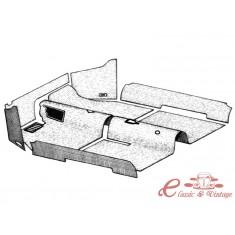 kit moqueta interior negra cabriolet 69-70