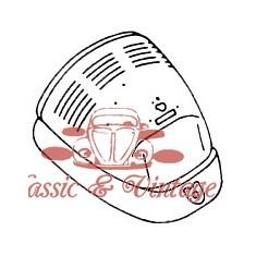 Capot trasero 1200-1300 8/67-7/75 (con rejilla ventilación )